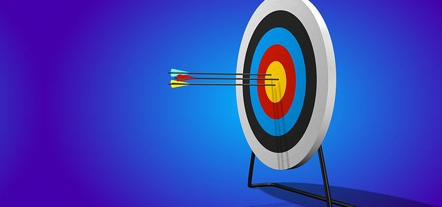 Picture of arrow target